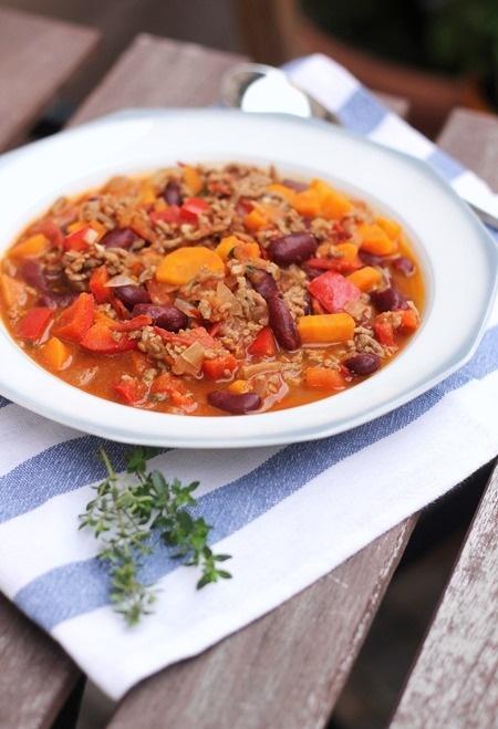 Gemüse Chili Con Carne Eatbakelove