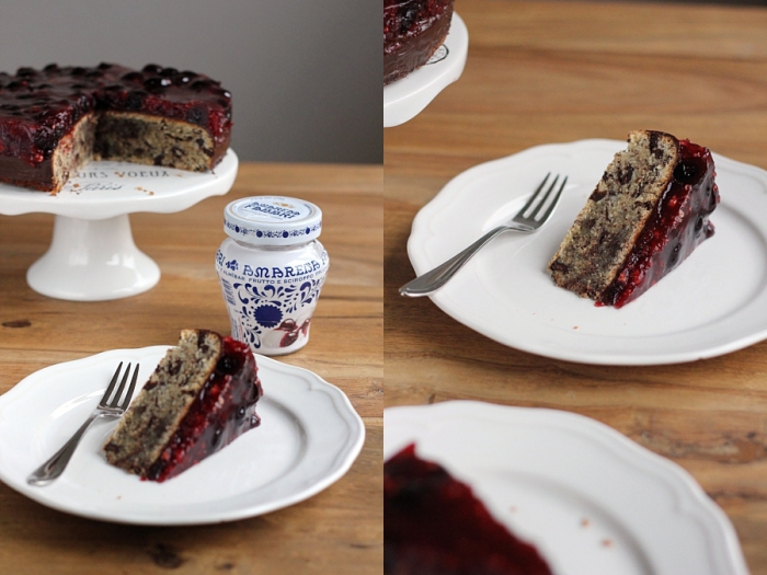 Schoko Haselnuss Kuchen Mit Amarena Kirschen Werbung Eatbakelove