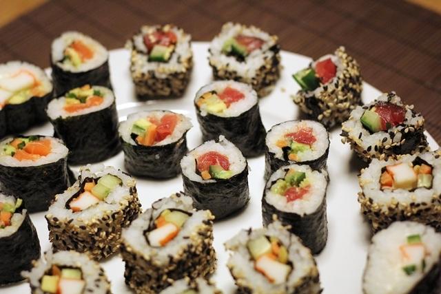 sushi eatbakelove. Black Bedroom Furniture Sets. Home Design Ideas